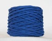 Royal Blue Tarn Recycled T-Shirt Yarn 71 Yds