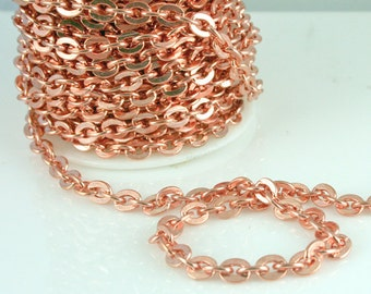 Copper Chain 8mm x 2.5mm link FT