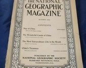 1912 October National Geographic Magazine