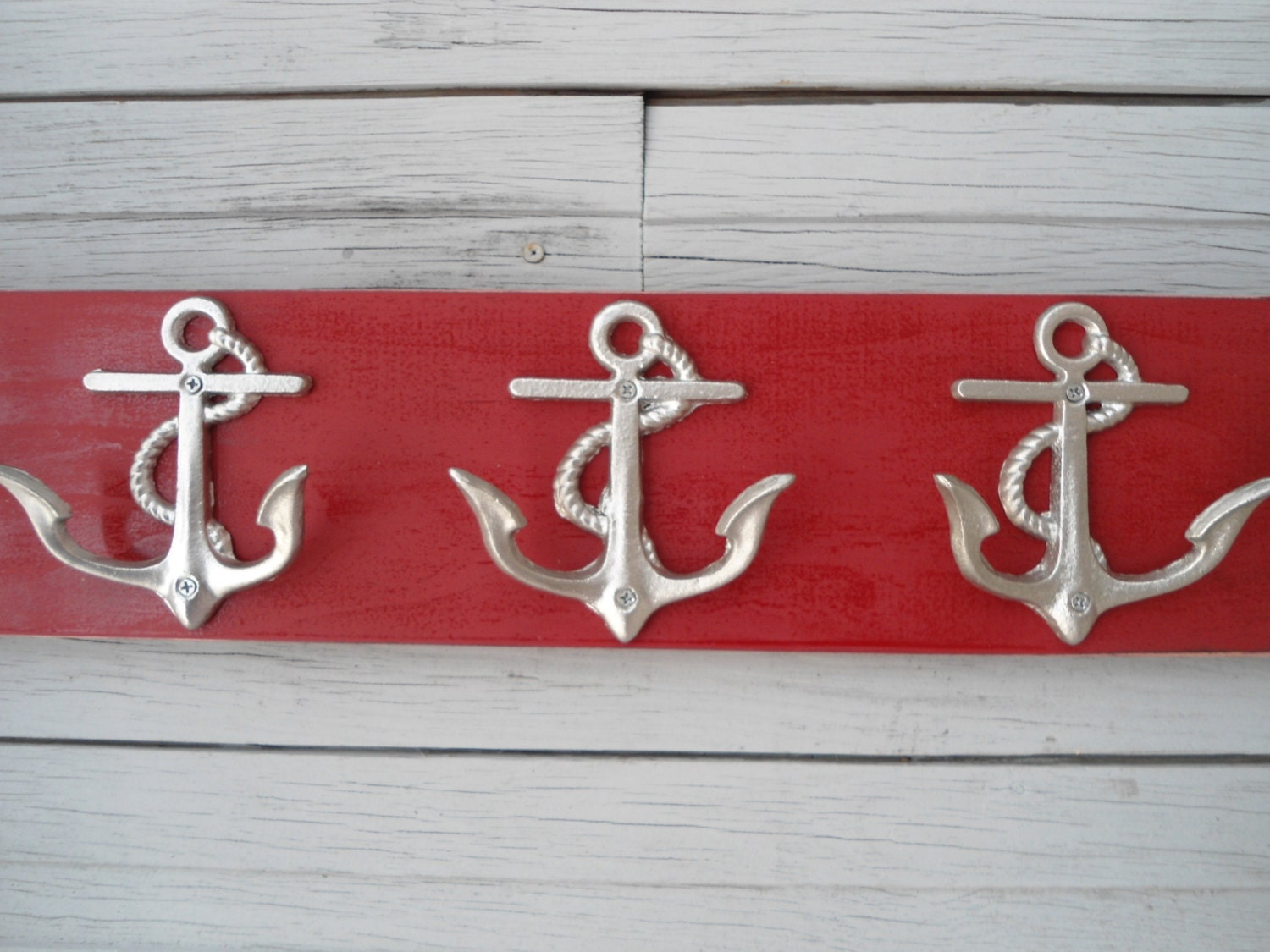 bathroom towel hook nautical nursery mudroom by riricreations. Black Bedroom Furniture Sets. Home Design Ideas