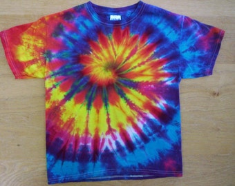 Childrens-Youth Small Swirl Tie Dye