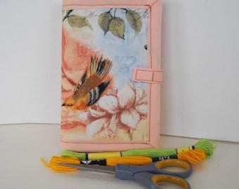 Spring Fling Needle Book Case Hand Sewing Organizer