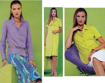 Separates Womens Sewing Pattern - Misses Dress Pattern - McCalls 3158 - Uncut, Factory Folded
