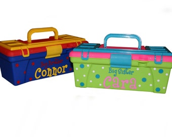 Personalized Children's Tool Box / Art Supply Box