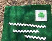 St. Patrick's Day Felt Envelope