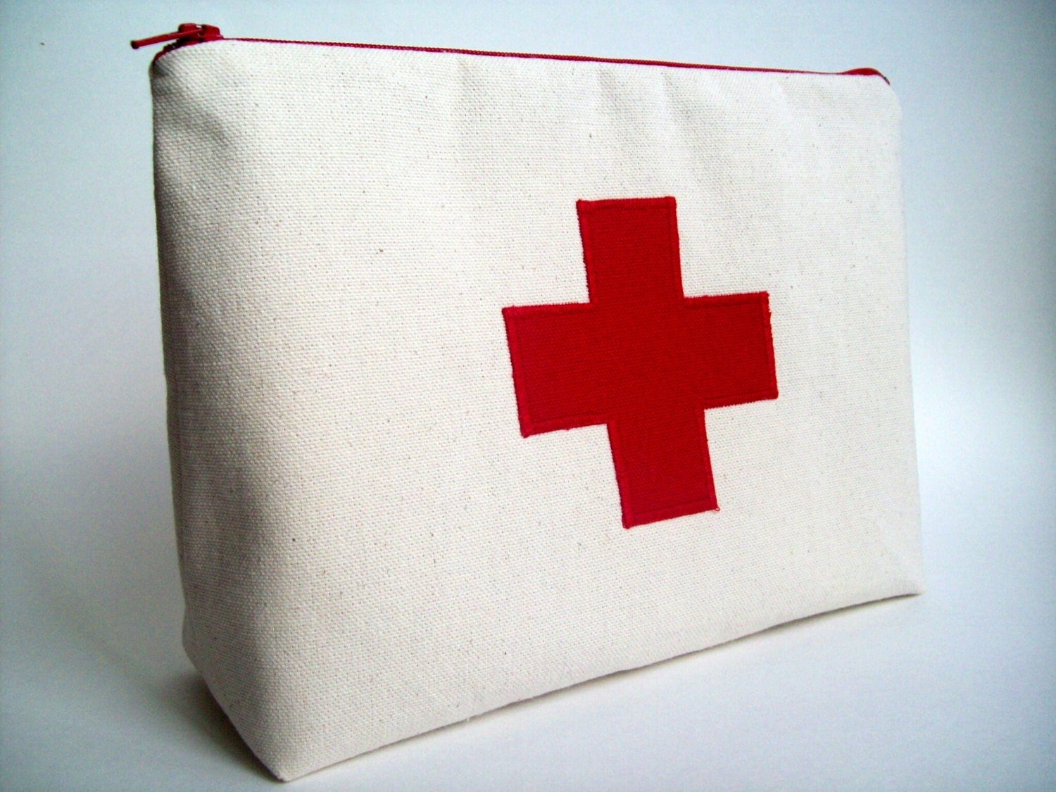 Red Cross Medicine Pouch First Aid Kit 10 X 7 X