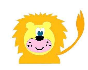 Lion Die Cut Do It Yourself Kit