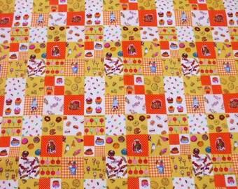 "SALE - Sweets Yellow - 1 Yard 108cm/43""W x 98cm/38.5""L (ta1123)"