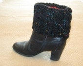 Hand Knit Boot Toppers