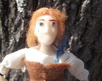 The Celtic Lass- OOAK Original Artist Doll