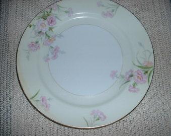 "Vintage Noritake Japan Mystery 1 Carnation Dinner plate 10"""