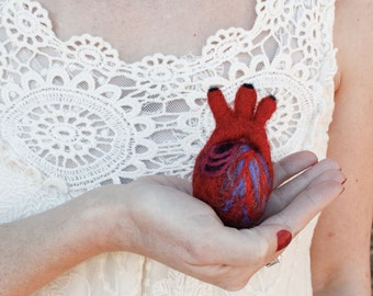 HeartFelt (XS) - Anatomical Heart