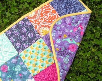 Reversible Quilted Table Runner -  Perfect for All Seasons
