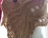 KNITTING PATTERN lace knit cowl scarf pdf knitting pattern cowl scarf neckwarmer - 8 Hand Knitting Shawl PDF Patterns