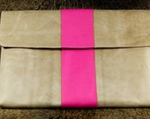 Lenovo Leather Sleeve - Pretty in Pink (Organic Leather)