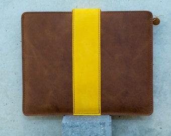 iPad Leather Sleeve - TURBOCHARGED (Organic Leather)