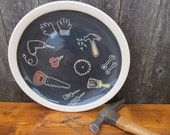 Gifts for Men - Tool Man Dinner Plate
