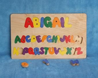 Name & Alphabet Puzzle