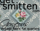 Private Listing for Katie- custom order of 2 Vintage Fabrics