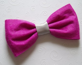 BOWTIES Dog Costume doggie Bow Tie Collar Attachment Pet Outfit ring bearer, Clothing wedding formal birthday SMALL or LARGE