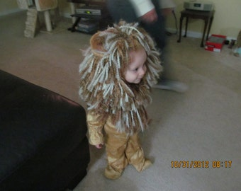 Baby  Lion Costume FREE SHIPPING early orders August only!