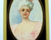 Antique Copyright 1906 Rare Antoinette Trade Bridge Playing Card