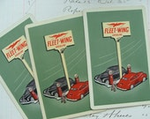 Antique Rare Gasoline Gas Station Gas Pump Advertisement Trade Playing Cards