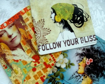 Bohemian Postcards from the Papaya Artist Collection