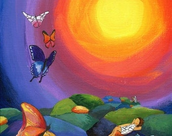 Print of Butterflies