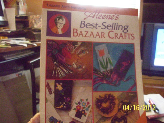 Items similar to aleene 39 s best selling bazaar crafts on etsy for Selling crafts online etsy