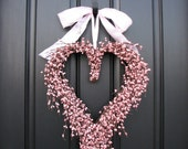 Door Wreaths - Valentine's Wreath - Valentine Decor - Crazy for You - XOXO - Heart Wreath - Pink Wreaths