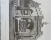 Vintage Book Cheddar England Beautiful Old Photographs Ruins Churches Houses