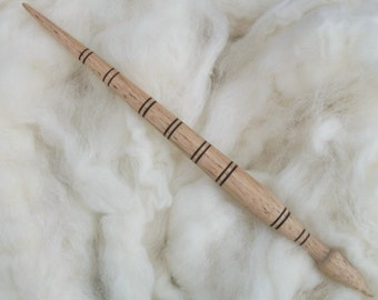 Original Russian spindle. Orenburg support spindle. Russian birch spindle.Siberian birch spindle.