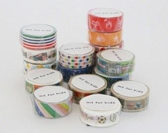 mt for kids - new 2013 summer edition - mt washi masking tape for kids