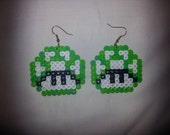 Super Mario 1UP Earrings - GEEK WEAR