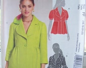 SALE McCall's M5594 Jacket Pattern -  Women's Career Jacket, Ruffled Sleeves and Collar Variations, Plus Size, Classic Fit