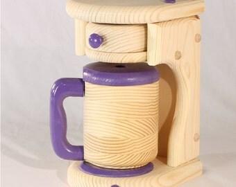 Toy Food Coffeemaker - 4 piece set