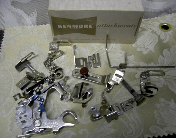 kenmore sewing machine accessories