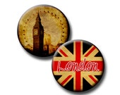 The British Are Coming - 30mm circles - (2) Digital collage sheets