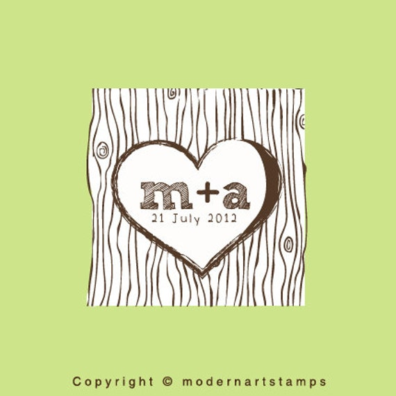 custom wedding stamp custom rubber stamp personalized stamp