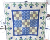 "wall hanging, baby quilt or table topper 44"" x 44""  free shipping"