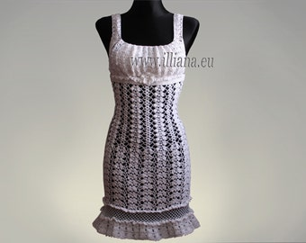 Crochet Pattern - Lady's dress No 221