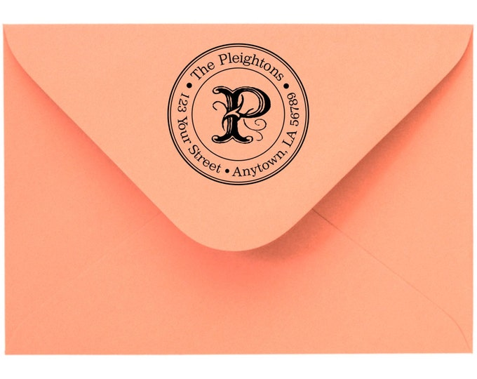 Personalized Custom Made Return Address and Name Rubber Stamps R48