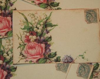 Wedding Place Card, Escort Cards,  Romantic Shabby Chic Style Place Cards, Wedding Placecards, Quantity 50