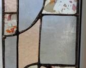 Apricots and Greys Abstract Mini Panel