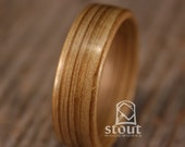 Bog Cypress Bentwood Ring - Handcrafted Wooden Ring