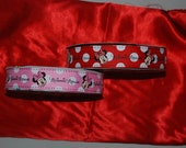 SALE! Minnie Mouse  Pokadots Ribbons 1.5 Inch- 5 yards