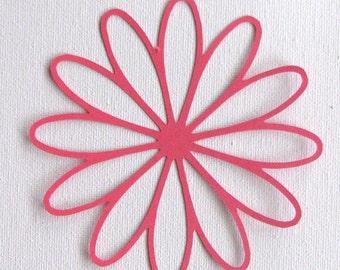 Daisy Flower die cut  set of 2