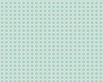 Eden's Dream Tiny Floral in Turquoise by Studio E Fabrics - 1 Yard