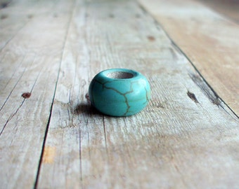 Turquoise Dreadlock Bead Accessory Extension Accessories Dread Boho Bohemian Hippie